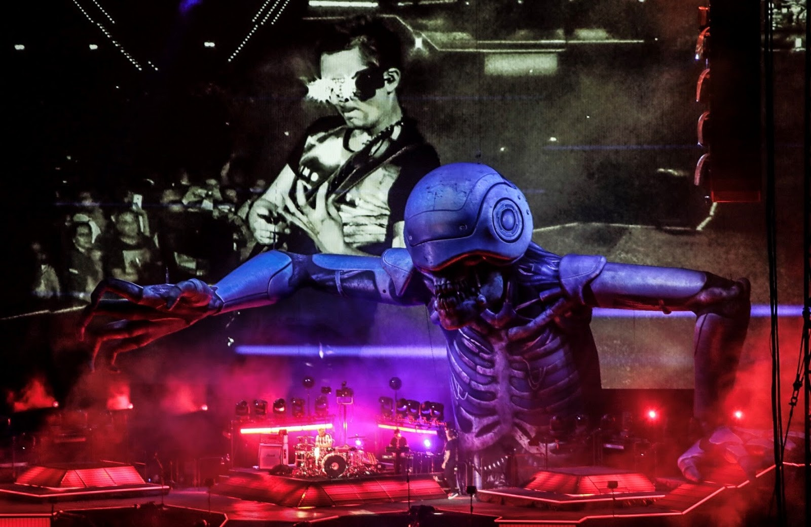 Muse World Tour Madrid