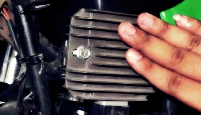 kiprok motor dingin