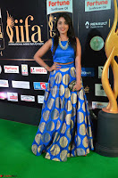 Madhu Shalini Looks Super Cute Slim trim Blue Choli Ghagra IIFA Utsavam Awards 022.JPG