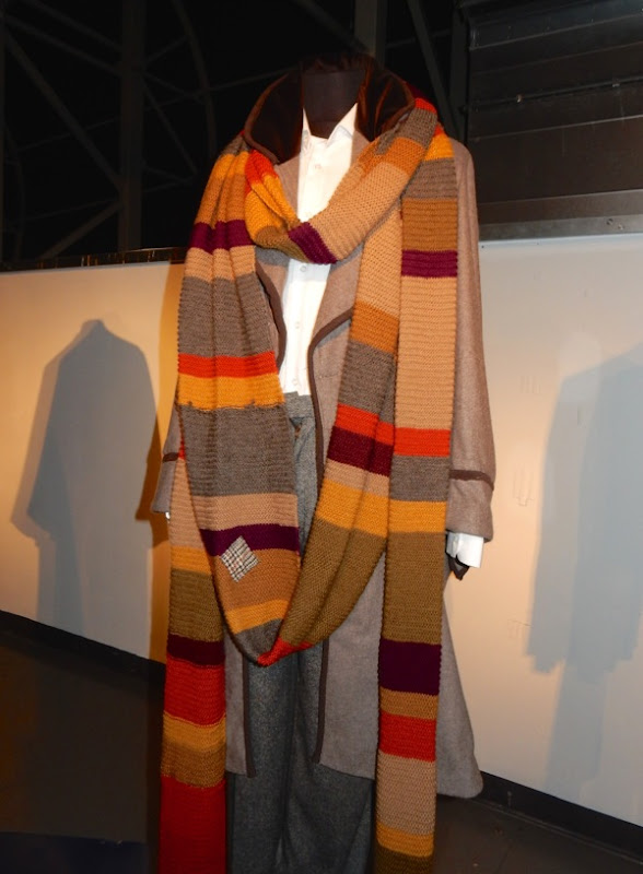 Tom Baker Fourth Doctor Who signature costume