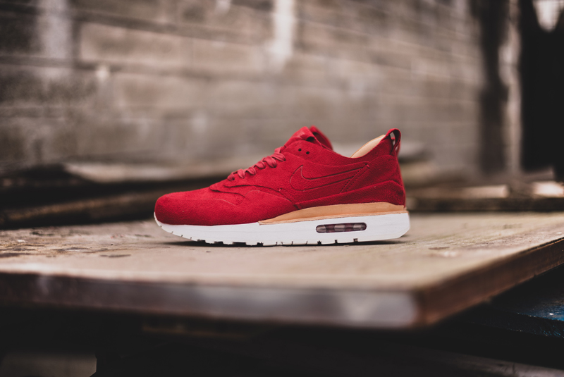 hot sale online 4e8ce 228c9 Swag Craze  Sneakers Dropping This Weekend  NikeLab Air Max 1 Royal Red  Women s Sneaker