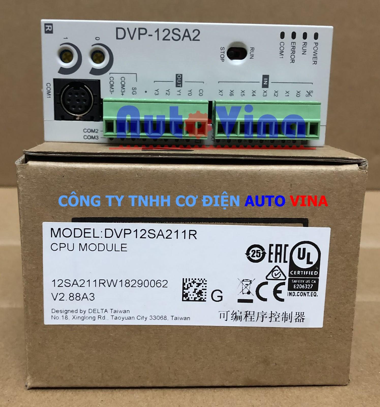 Đại lý bán PLC Delta DVP12SA211R hàng có sẵn, giá rẻ nhất