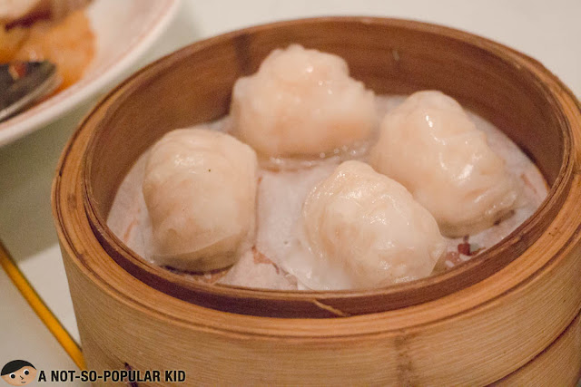Steamed Crystal Skin Shrimp Dumplings - Shrimp Hakaw