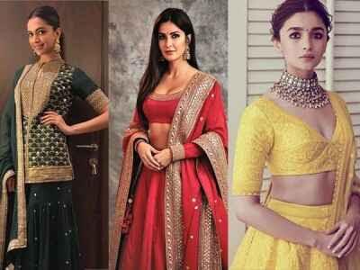 Bollywood actress in Sabyasachi Mukherjee dress
