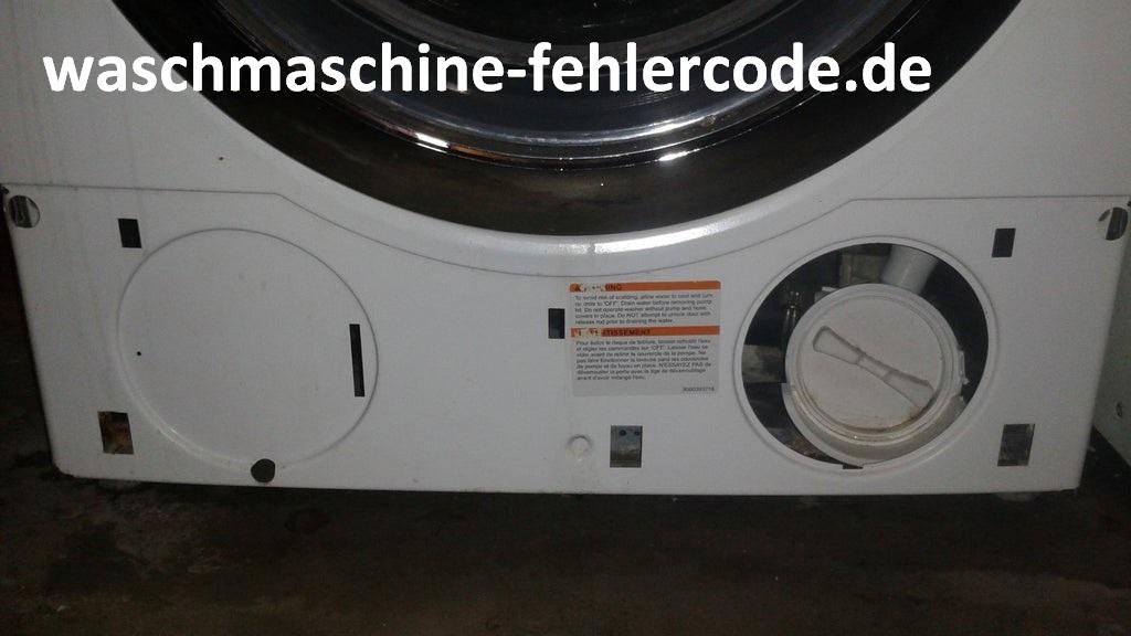 Siemens Waschmaschine Fehlercode E17 - Gelöst