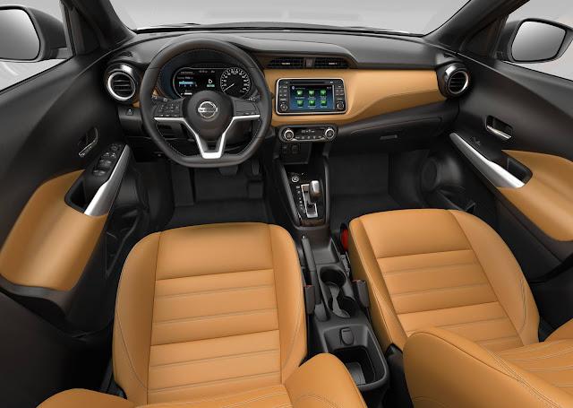 Novo Nissan Kicks 2017 - interior