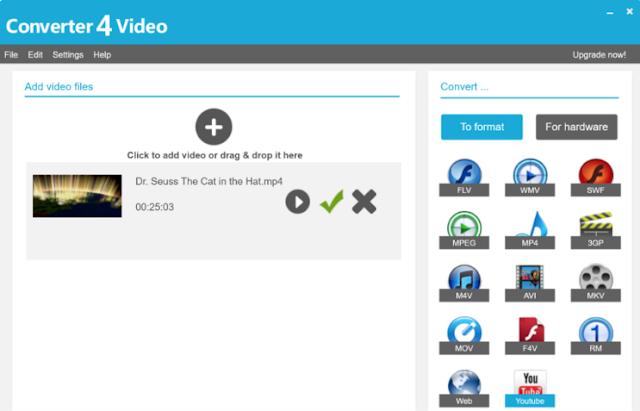 تحميل برنامج محول الفيديو للكمبيوتر Converter4Video