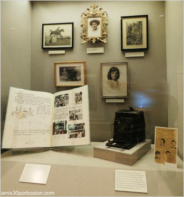 Objetos y Cámara de Fotos de Jacqueline Kennedy