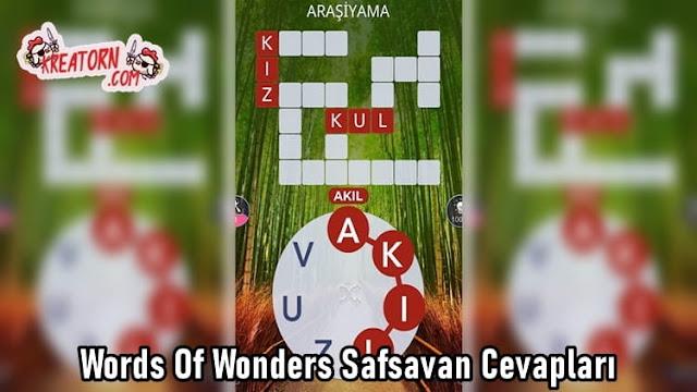 Words-Of-Wonders-Safsavan-Cevaplari