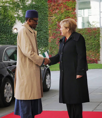 My team and I met with German Chancellor Angela Merkel and her team at the Chancellery in Berlin this morning