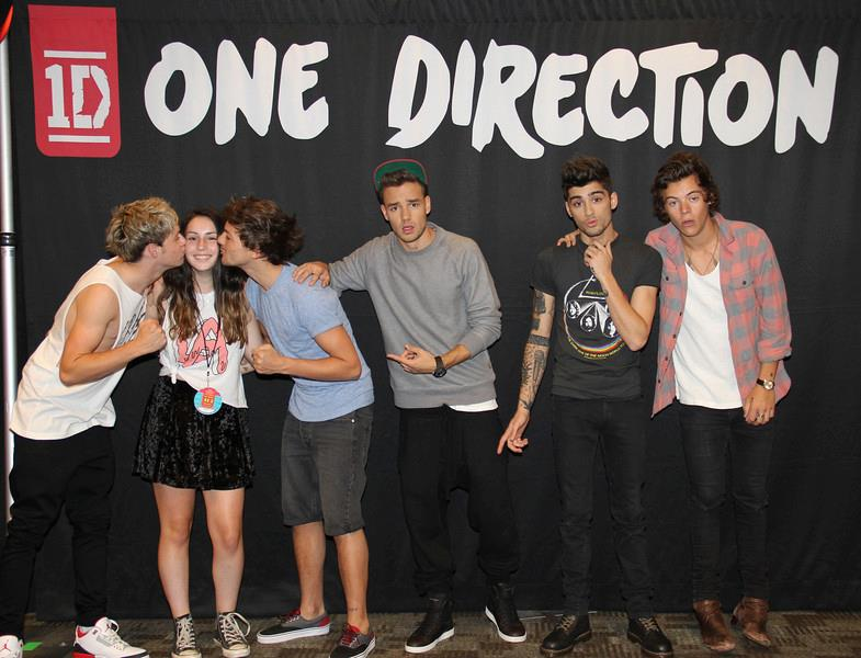 free meet and greet one direction 2013