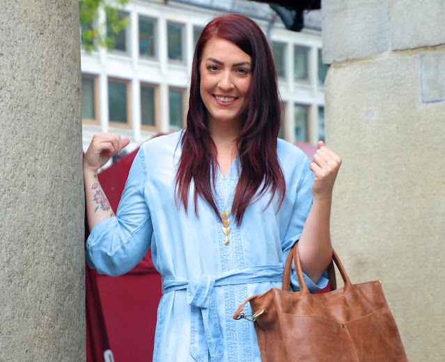 OOTD: Chambray in the City