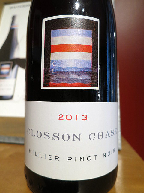 Closson Chase Hillier Pinot Noir 2013 (90+ pts)