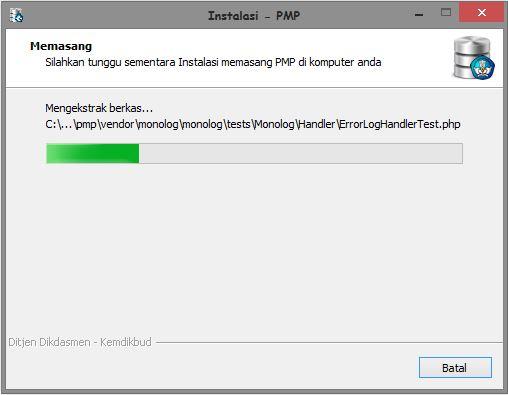 Panduan Install Aplikasi PMP (Penjamin Mutu Pendidikan) 2016