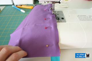 كيفية تفصيل وخياطة شنطة يد خطوة بخطوة