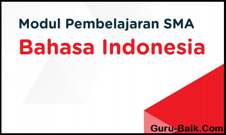 E-Modul Bahasa Indonesia Kelas 11 SMA Tahun 2021/2022