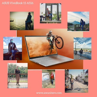 Asus VivoBook 15 A516, traveling