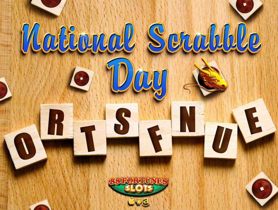 National Scrabble Day Wishes Images download