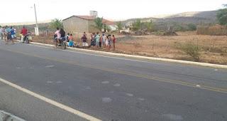 Acidente de moto em Nova Palmeira deixa popular gravemente ferido