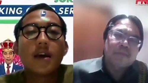 Debat Soal BEM UI, Ade Armando: Tujuan Mereka Makzulkan Jokowi