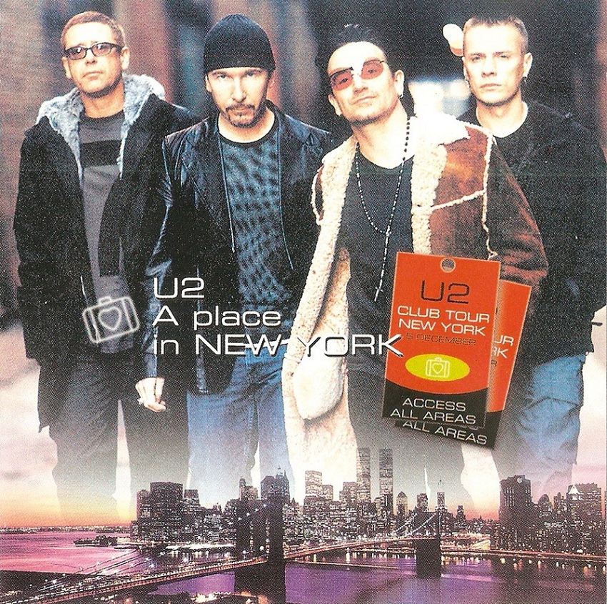 U2 New York 2019 T.U.B.E.: U2   2000 12 05   New York City, NY (FM/FLAC)