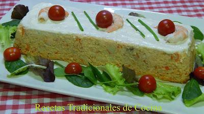 Cómo hacer pastel de salmón fresco receta muy fácil