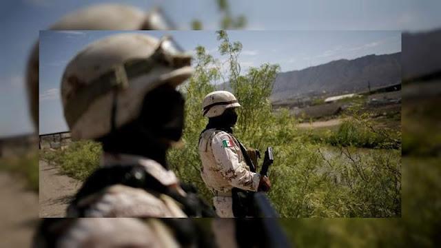 """Con ayuda mutua Guardia Nacional y Cárteles Unidos realizan limpia del CJNG en El Aguaje, Michoacan """"Cateando y secuestrando"""""""
