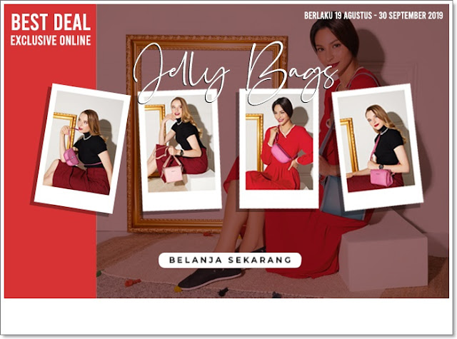 Jelly Bag, Sophie Paris, Jelly Bag Sophie Paris, Jelly Bag Tas Sophie Paris, Tas Sophie Paris Baru, Best Deal, Best Deal SOphie Paris, Best Deal Exclusice Online, Belanja ONline, Belanja Online Sophie Paris, Sophie Paris Belanja Online