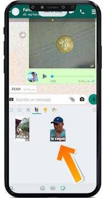 cómo hacer stickers animados fáciles para WhatsApp