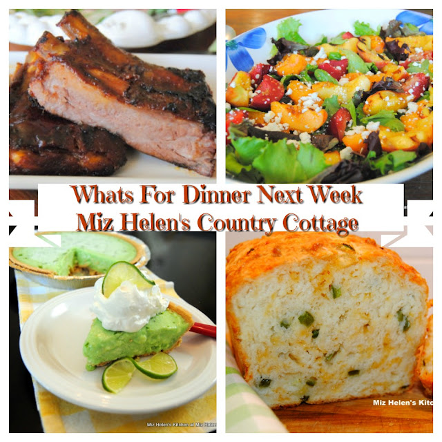 Whats For Dinner Next Week,8-16-20 at Miz Helen's Country Cottage