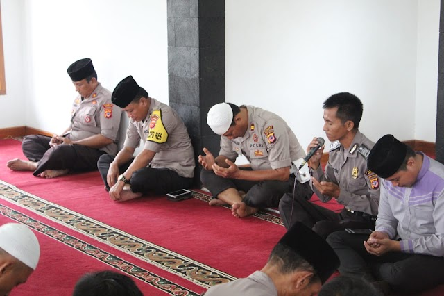 Polres Banjar Gelar Doa dan Tausiah Jelang Pelantikan Presiden