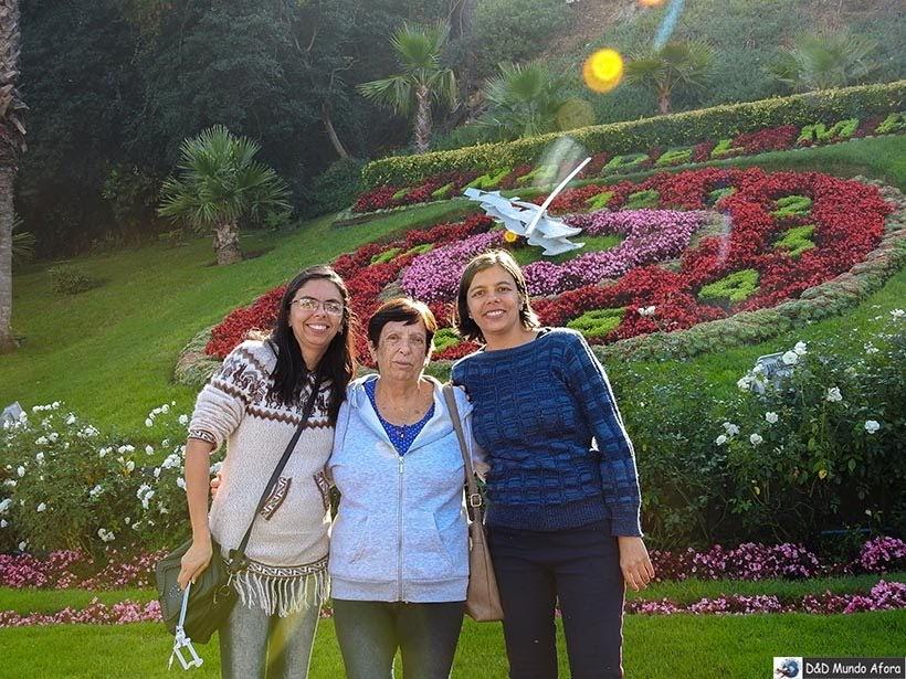 Relógio de Flores em Viña del Mar - Diário de Bordo Chile: 8 dias em Santiago e arredores