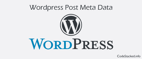 Create Custom Post Meta in Wordpress