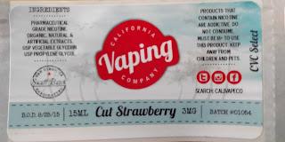 300x Vape Label