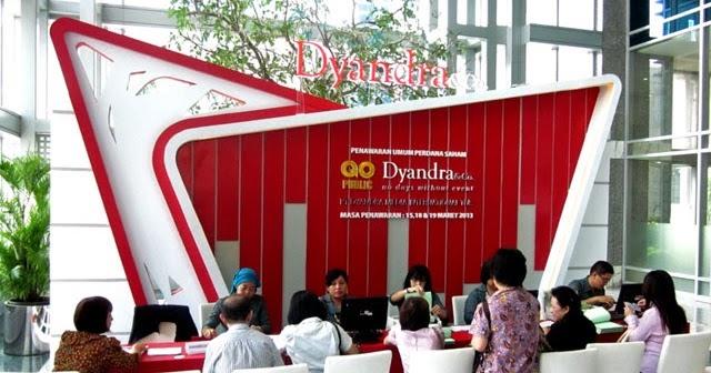 DYAN DYAN | Target Pendapatan Dyandra Tembus di atas Rp 1 Triliun