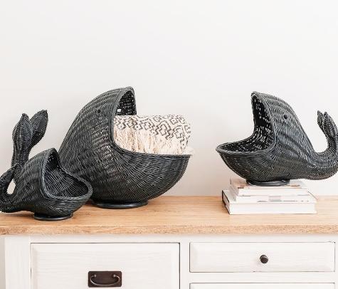 Black Whale Baskets