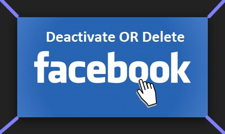 how to deactivate or delete your facebook account permanently