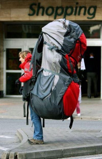 18c01a30adf7 Amawalker  THE BACKPACK AND OTHER MYTHS