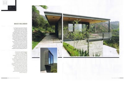 Bruce Bolander Architect Malibu Times Features Blair