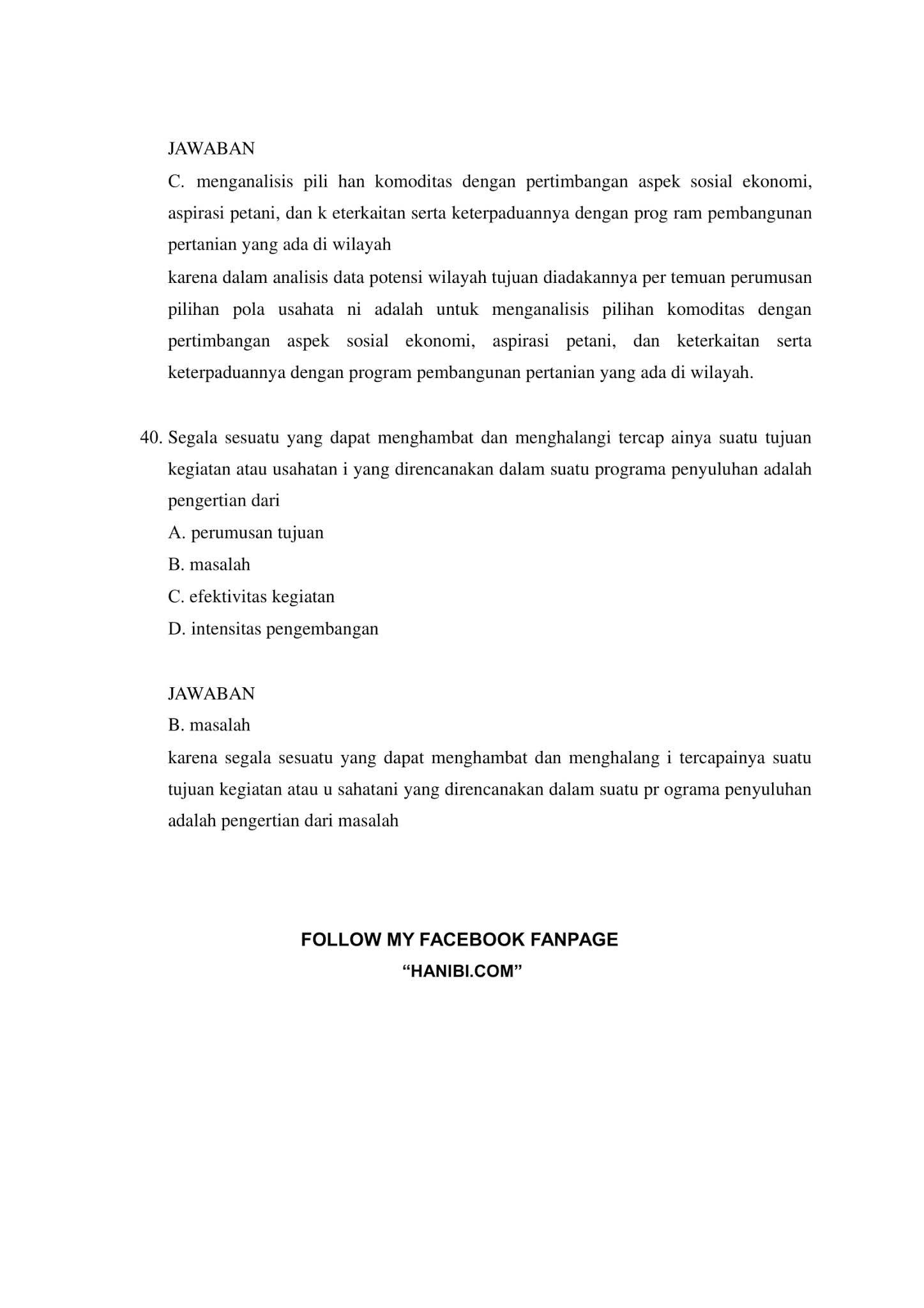 180+ Latihan Soal SKB Pertanian CPNS 2021 + Kunci Jawaban ...