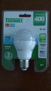 lampada led embalagem