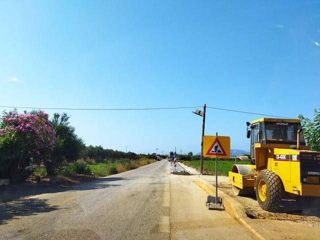 Συντήρηση, βελτίωση της 15ης επαρχιακής οδού (τμήμα Φιλιατρών - Μαραθόπολης - ΦΩΤΟ)