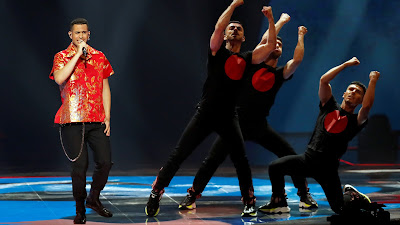 Mahmood, Eurovision 2017, Italia