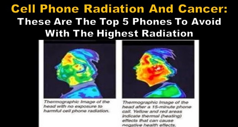5 phones with highest radiation