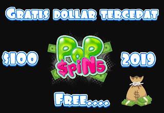 Cara dapat dollar dari PopSpins