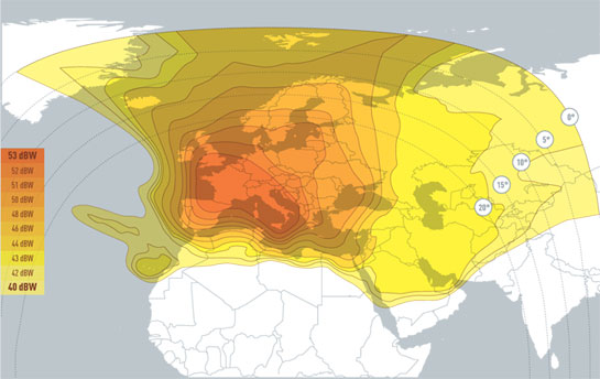Hotbird Satellite Frequency In Middle East