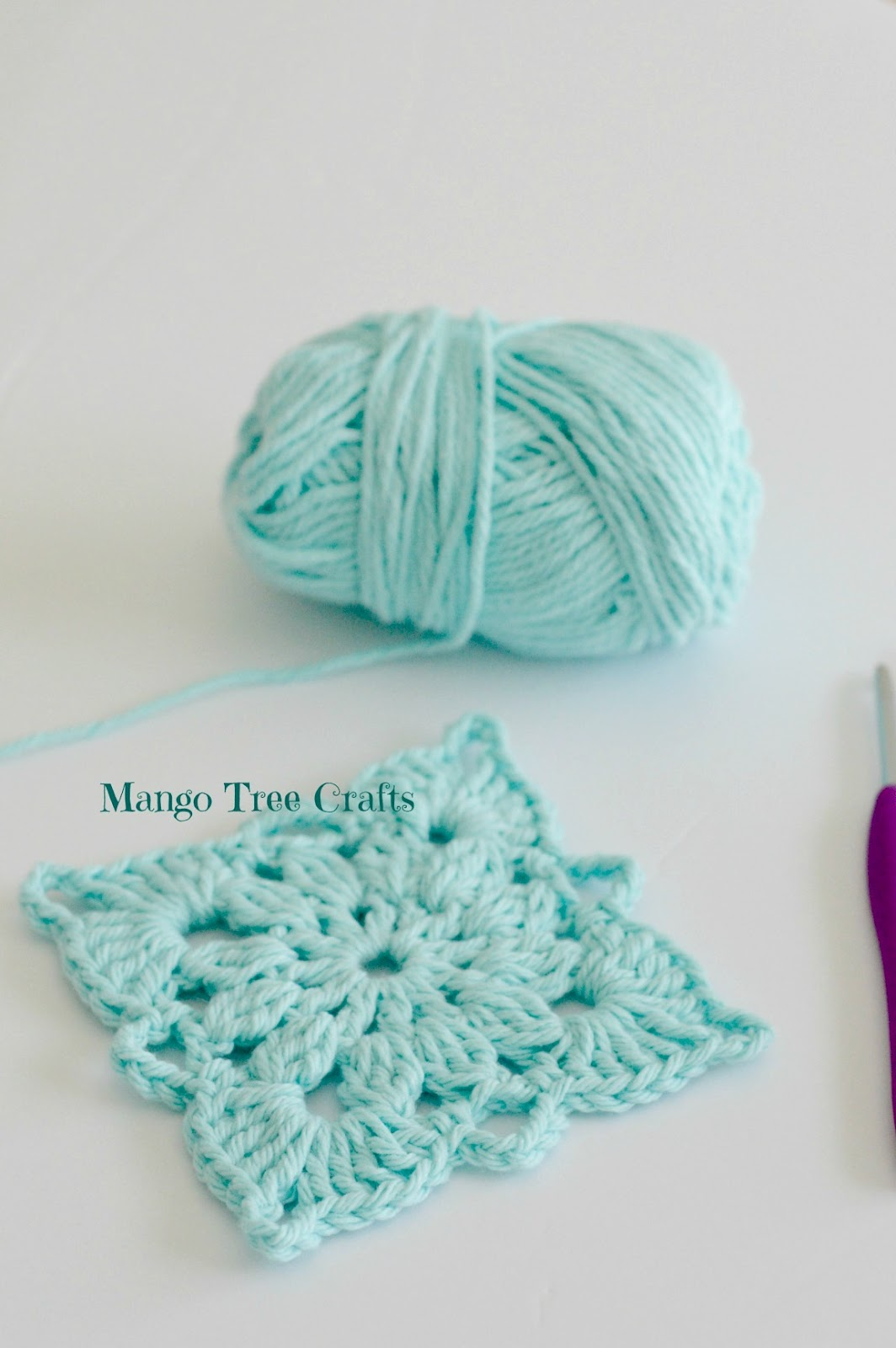 Crochet Square Pattern And Photo Tutorial