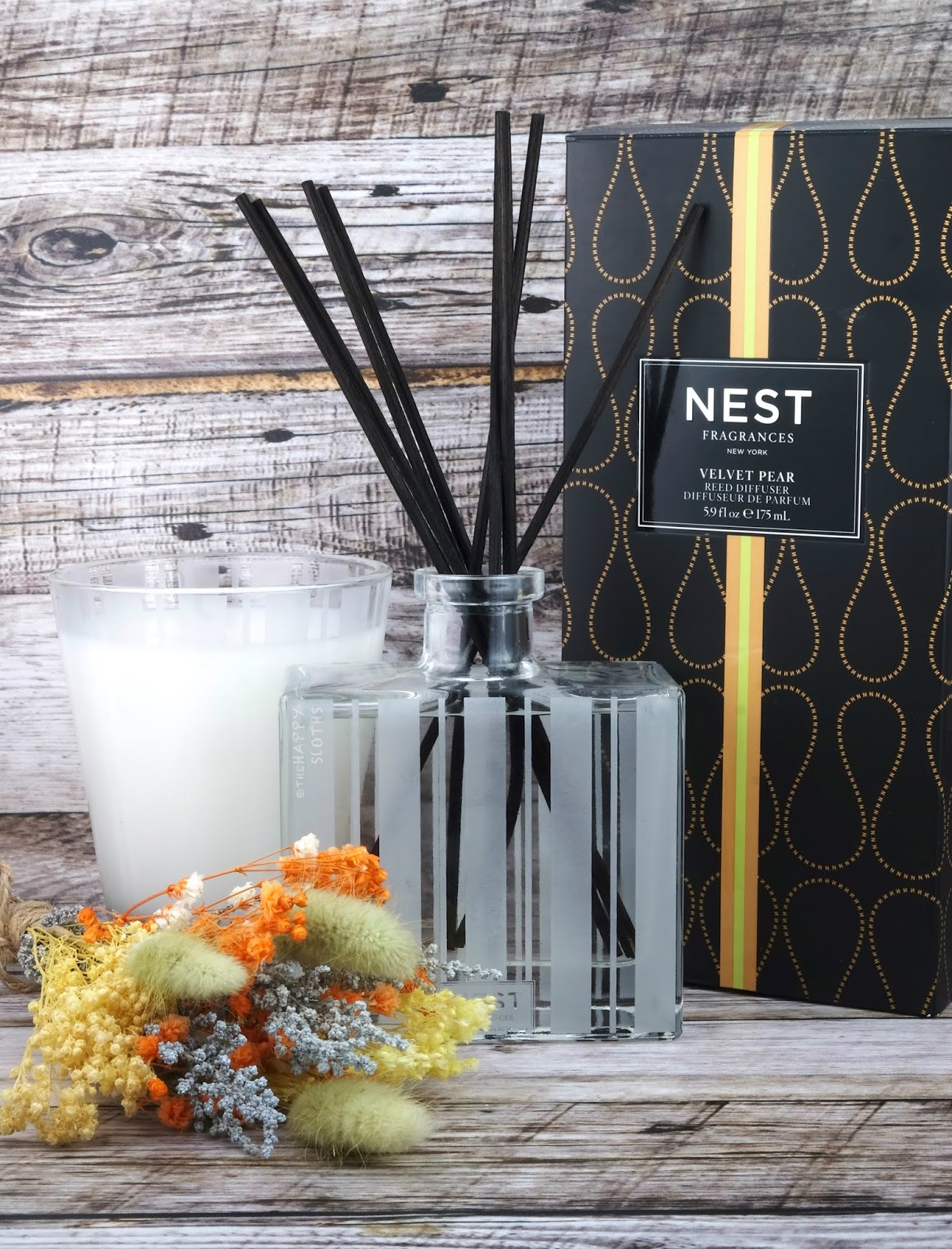 NEST Fragrances | Velvet Pear Candle & Reed Diffuser: Review