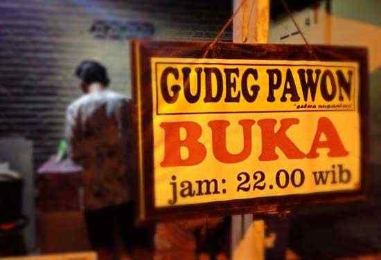 Kuliner Gudeg Pawon
