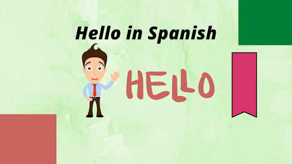 Hello in Spanish, how to say hello in Spanish, hola, greetings in spanish